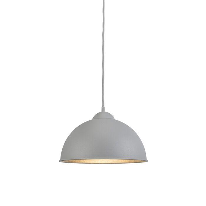 Lámpara-colgante-moderna-redonda-gris---MAGNA-Basic