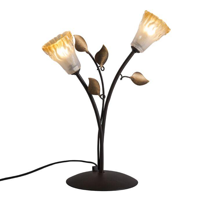 Lámpara-de-mesa-VEDELAGO-2-marrón-envejecido