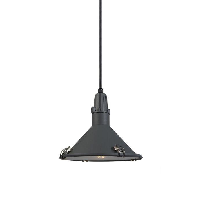 Lámpara-colgante-industrial-gris-IP44---VIDA