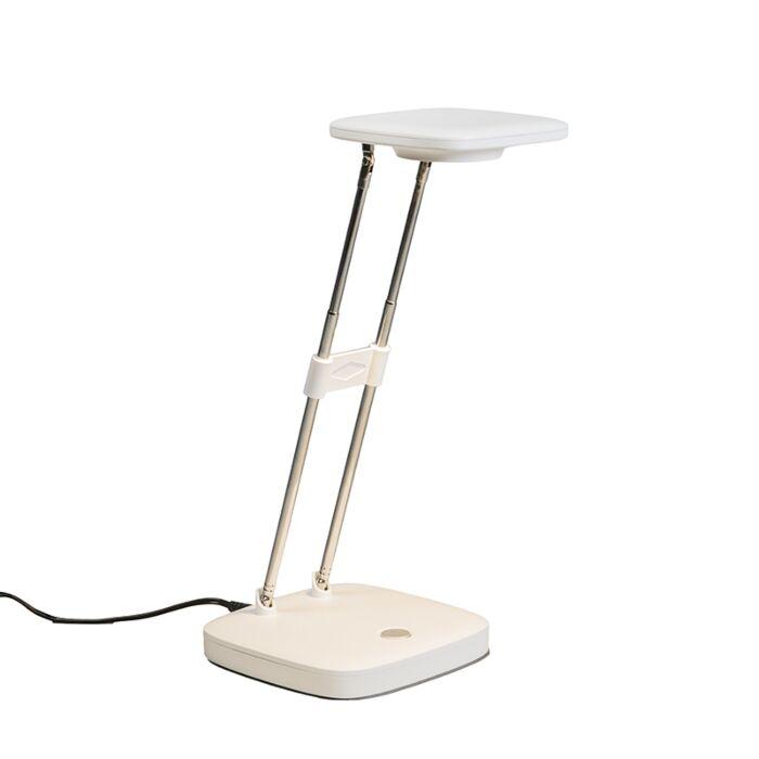 Lámpara-de-mesa-ZENITH-LED-blanca