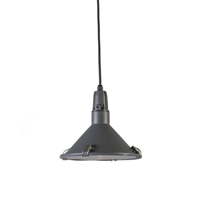 Lámpara-colgante-VIDA-gris-oscuro-IP44