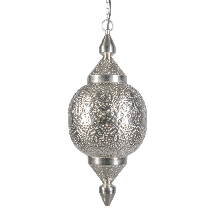 Lámpara-colgante-MARRAKESH-plata