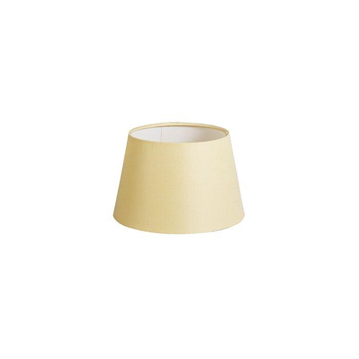 Pantalla-20cm-cónica-DS-E27-lino-crema