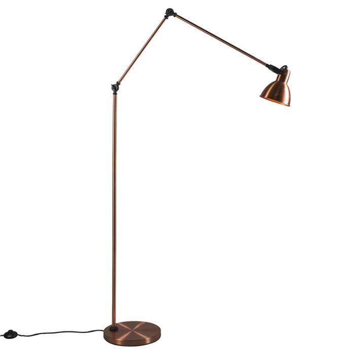Lámpara-de-pie-DAZZLE-cobre