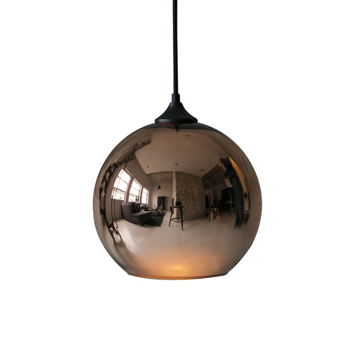 Lámpara-colgante-BUBBLA-cobre
