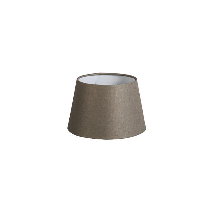 Pantalla-20cm-cónica-DS-E27-lino-taupe