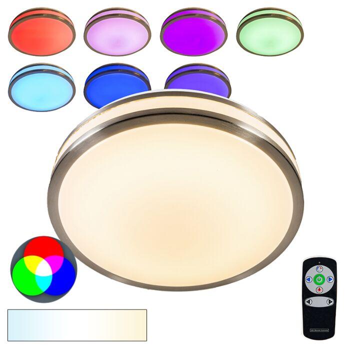 Plafón-AVANTI-I-12W-LED-RGB-acero