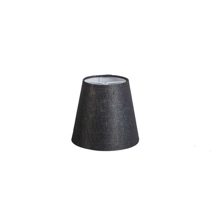 Pantalla-lino-negra-12cm-redonda