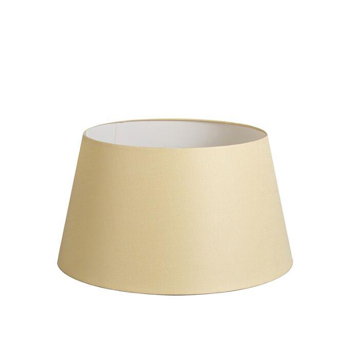 Pantalla-32cm-cónica-DS-E27-lino-crema