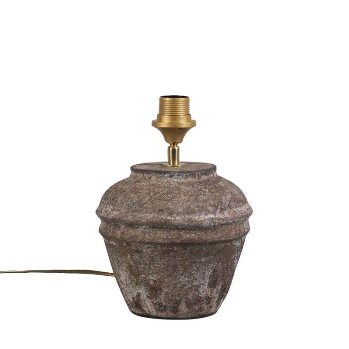 Lámpara-de-mesa-rústica-marrón---ARTA-XS-Vintage