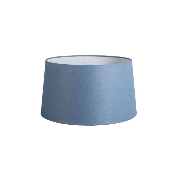 Pantalla-45cm-cónica-DS-E27-lino-azul