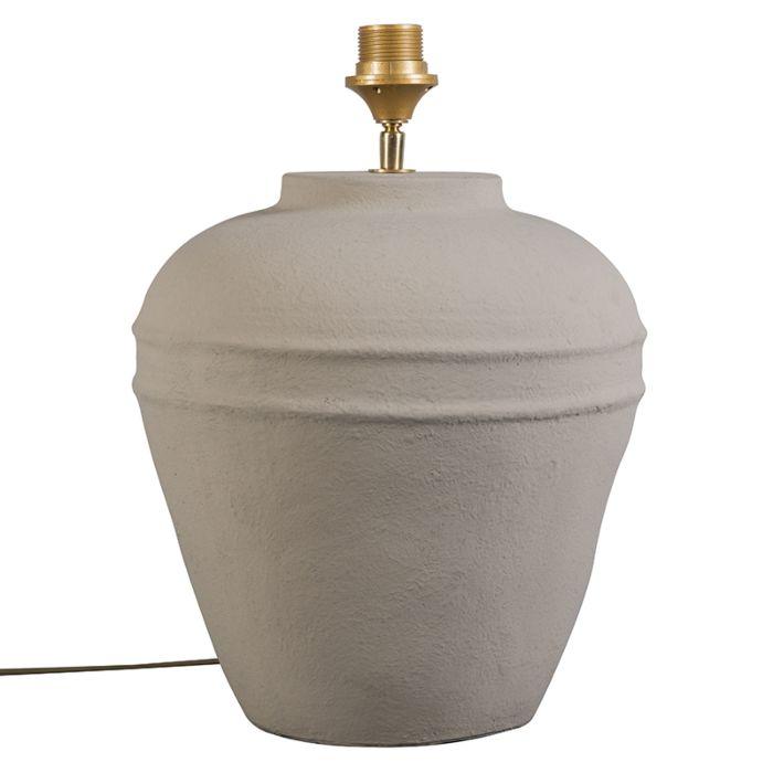 Lámpara-de-mesa-ARTA-pequeña-gris