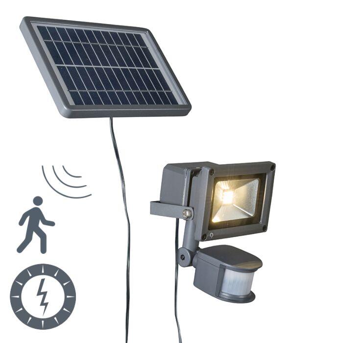 Proyector-solar-LED-STRAIN-gris-oscuros