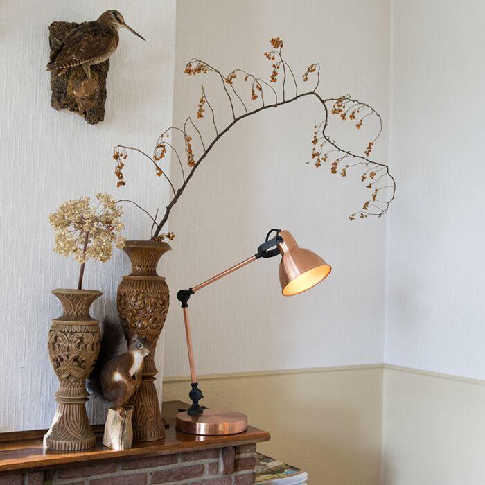 Lámpara-de-mesa-DAZZLE-cobre