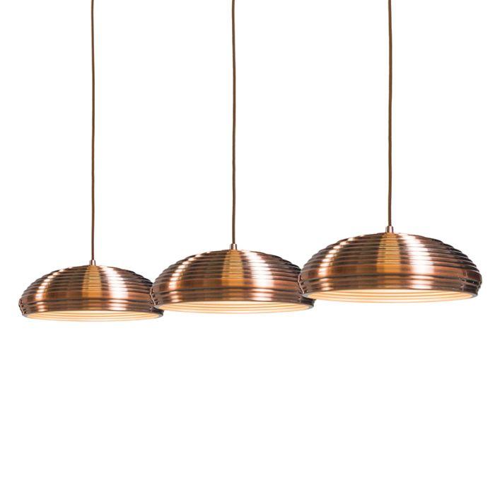 Lámpara-colgante-DISH-3-cobre