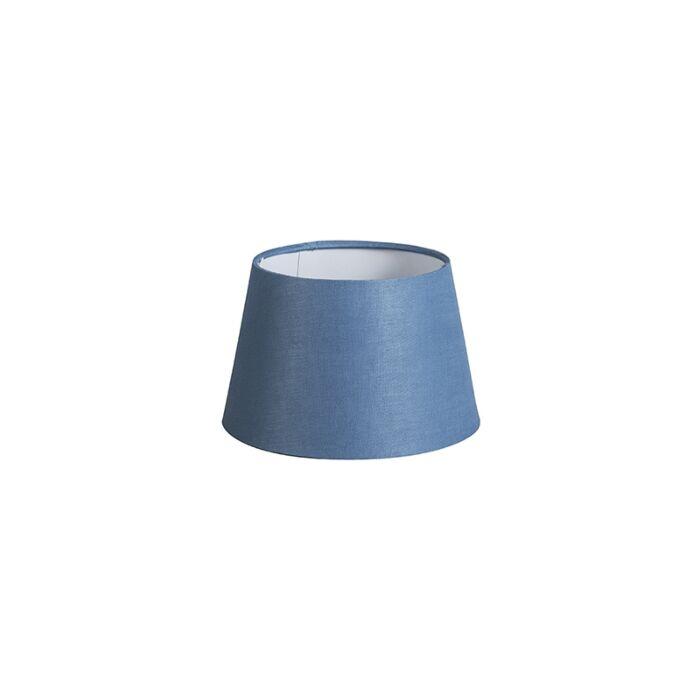 Pantalla-20cm-cónica-DS-E27-lino-azul