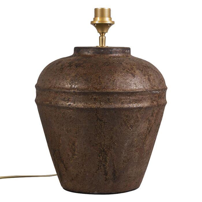 Lámpara-de-mesa-ARTA-pequeña-óxido