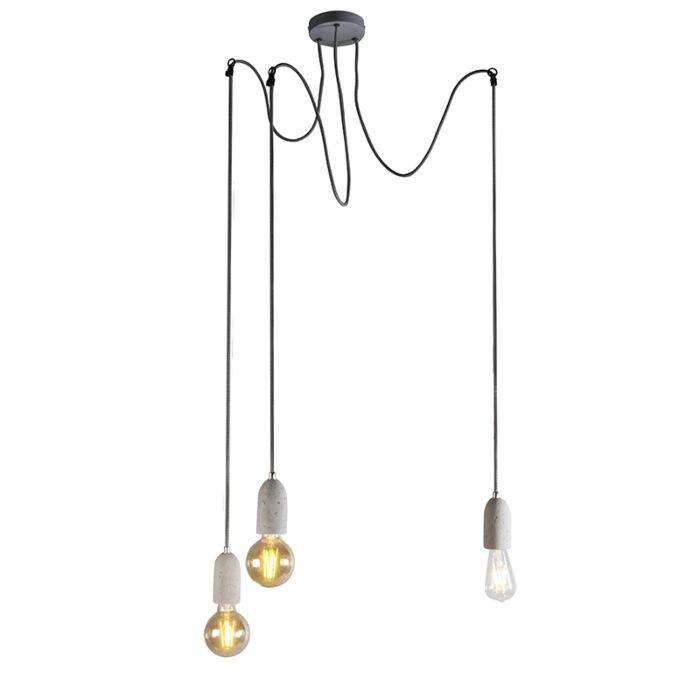 Lámpara-colgante-industrial-hormigón-gris---CAVA-3