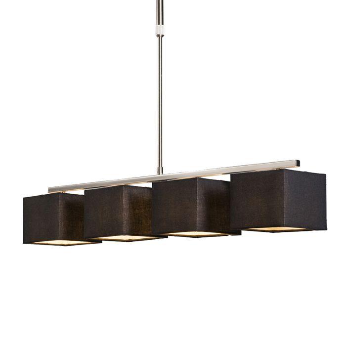 Lámpara-colgante-VT-4-negra