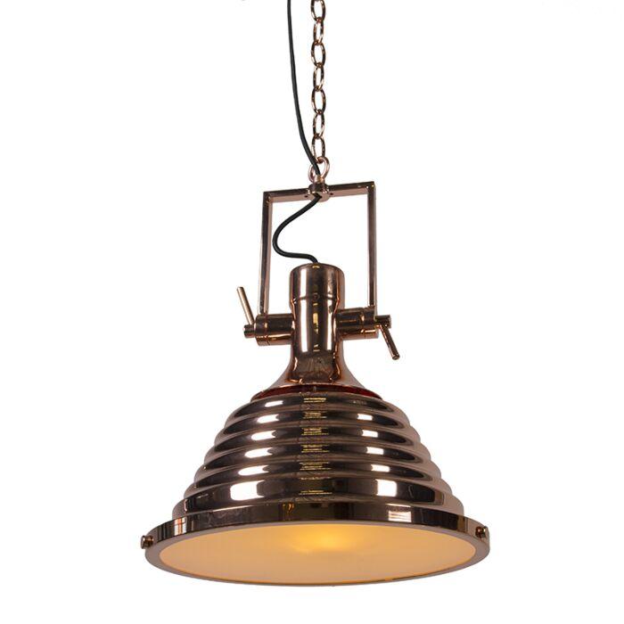 Lámpara-colgante-FORTES-cobre