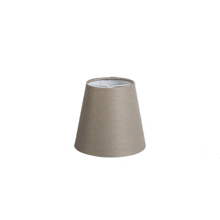 Pantalla-lino-visón-12cm-redonda