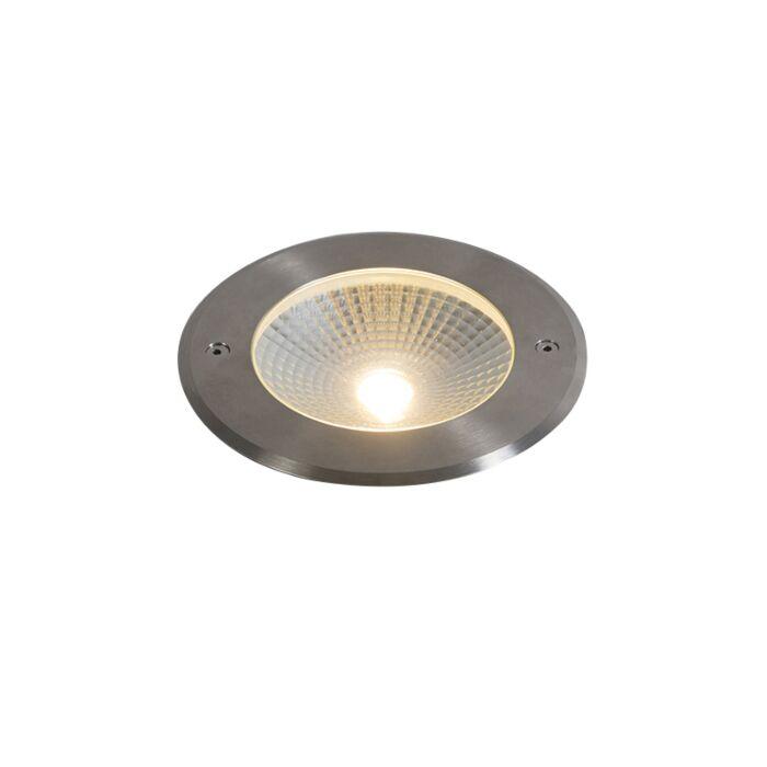 Foco-de-suelo-moderno-aluminio-LED-10W---BRIDGE