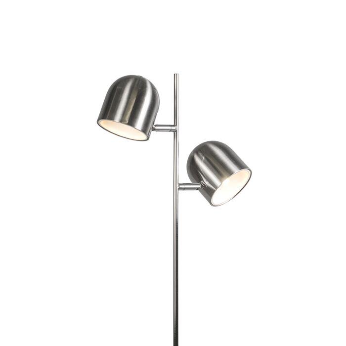 Lámpara-de-pie-moderna-acero-LED---QUEST