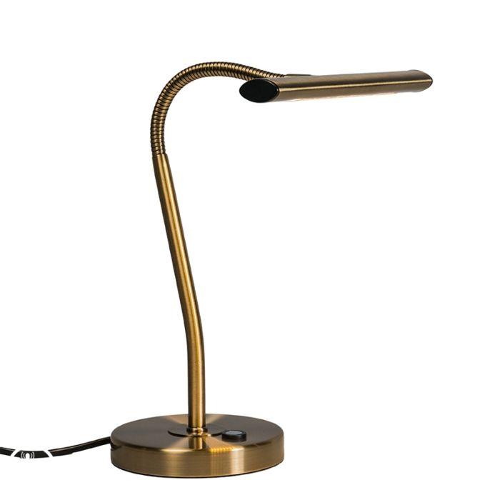 Lámpara-de-mesa-Art-Déco-bronce-LED---TABLEAU