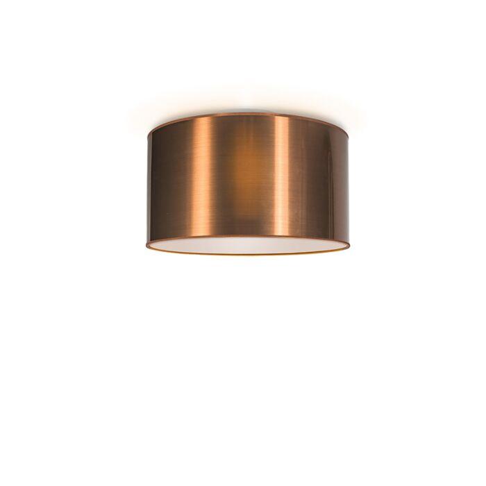 Plafón-DRUM-35-cobre