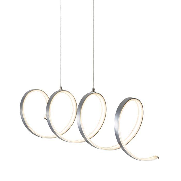 Lámpara-colgante-RIZO-acero