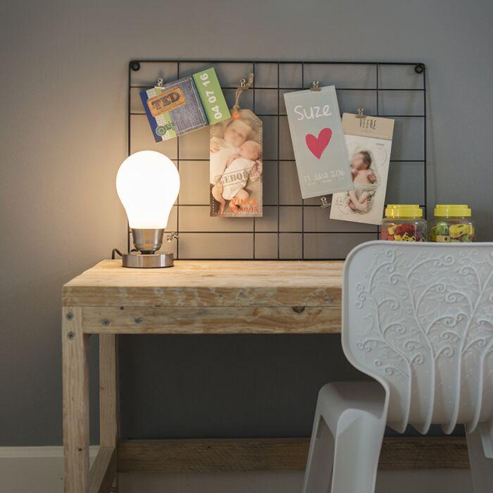 Lámpara-de-mesa-LUCE-blanca-táctil