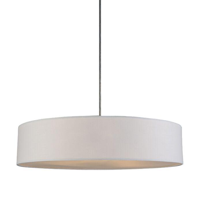 Lámpara-colgante-DRUM-Basic-50-crema