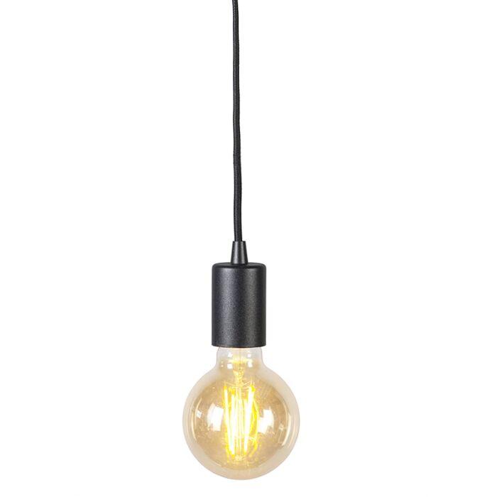 Lámpara-colgante-industrial-negra---FACIL-1