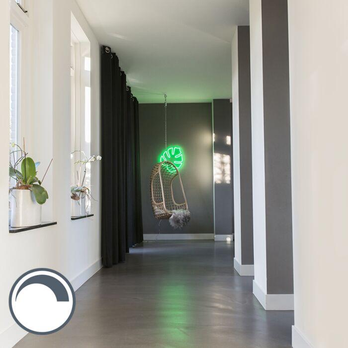 Aplique-verde-regulable-con-mando-a-distancia-LED---NEON-BLAD
