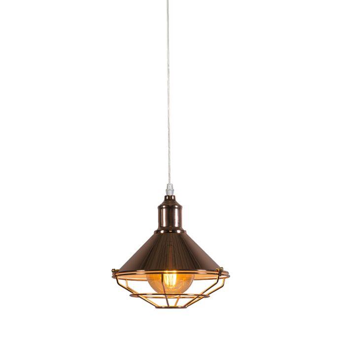 Lámpara-colgante-TOLL-cobre