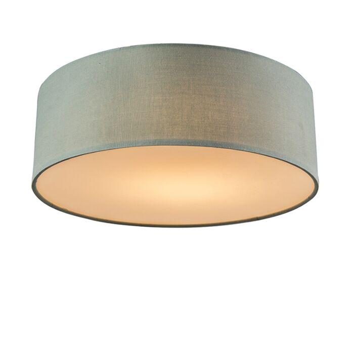 Plafón-verde-30cm-LED---DRUM-LED