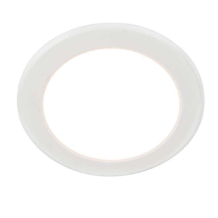 Foco-empotrado-moderno-blanco-con-LED---Unidad