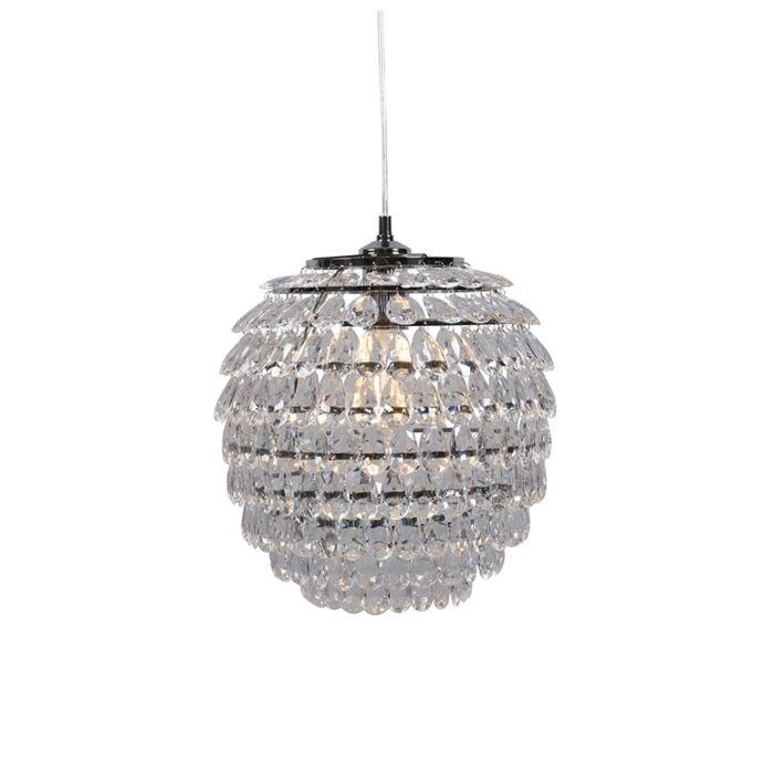 Lámpara-colgante-Art-Déco-acero---BLING