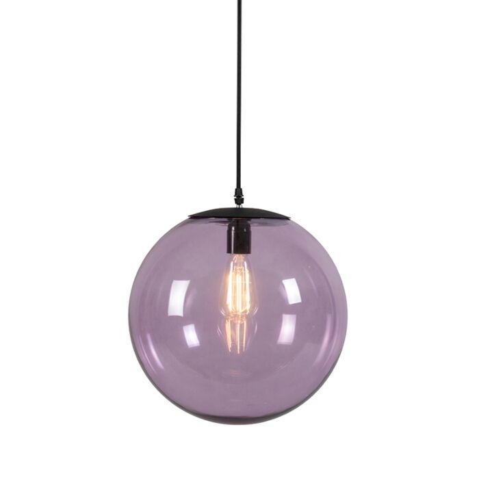 Lámpara-colgante-PALLON-35-rosa