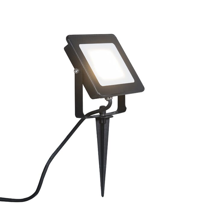 Proyector-LED-RADIUS-1-20W-negro-con-estaca