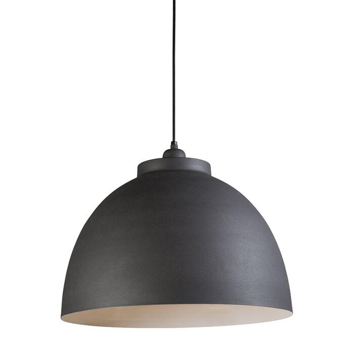 Lámpara-colgante-HOODI-gris-blanco