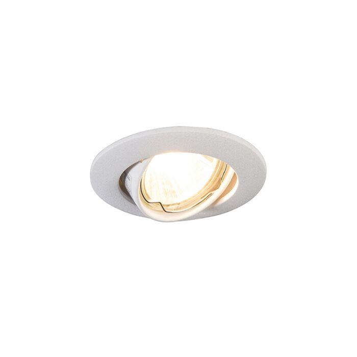 Foco-empotrado-blanco-redondo-orientable---EDU-MINI