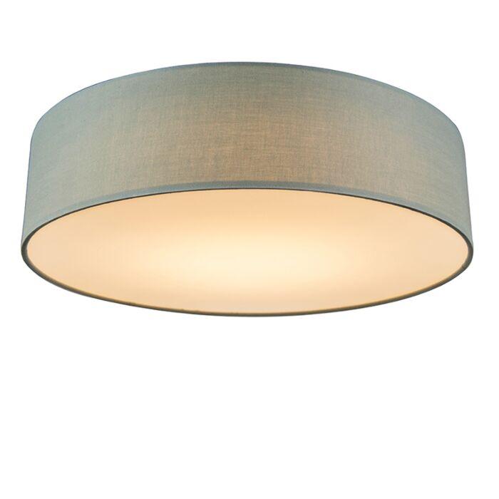Lámpara-de-techo-verde-40-cm-LED---DRUM-LED