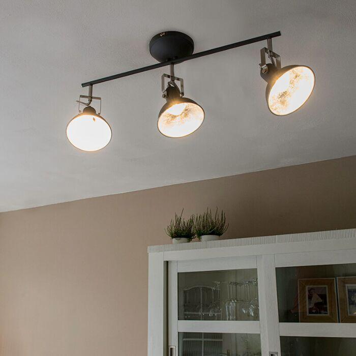 Plafón-industrial-antracita-giratorio-3-luces---TOMMY-3