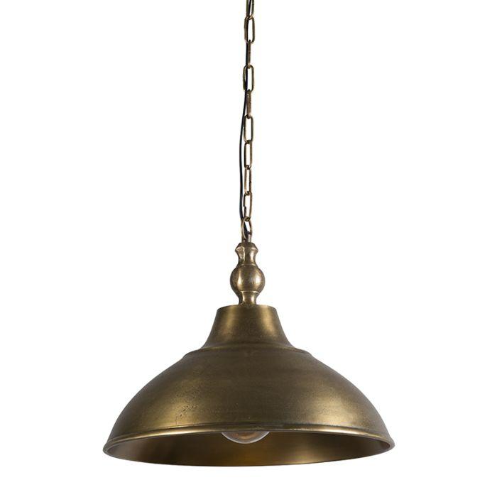 Lámpara-colgante-PANILLA-bronce