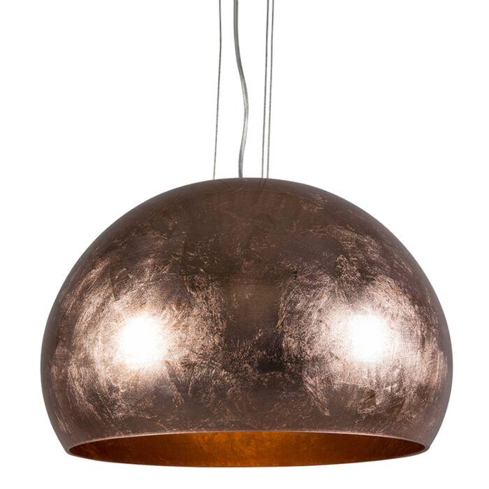 Lámpara-colgante-ENCO-cobre