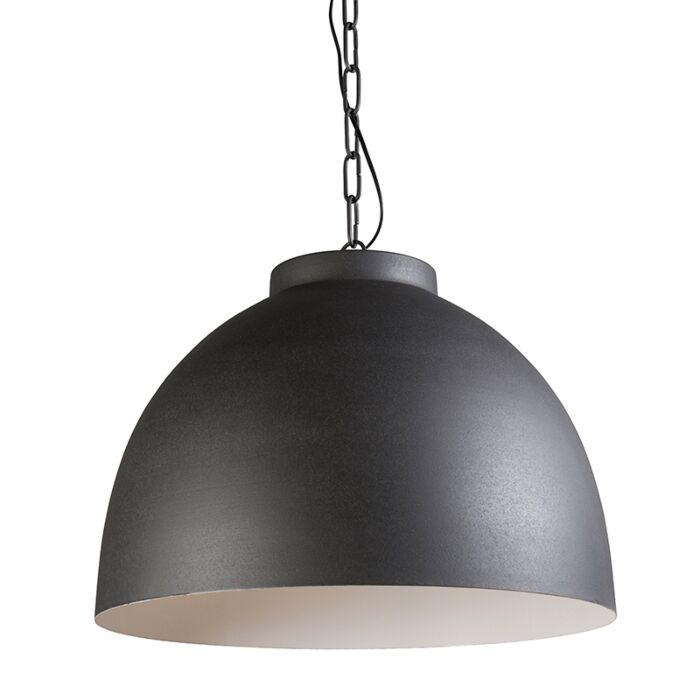 Lámpara-colgante-HOODI-XL-gris-blanco