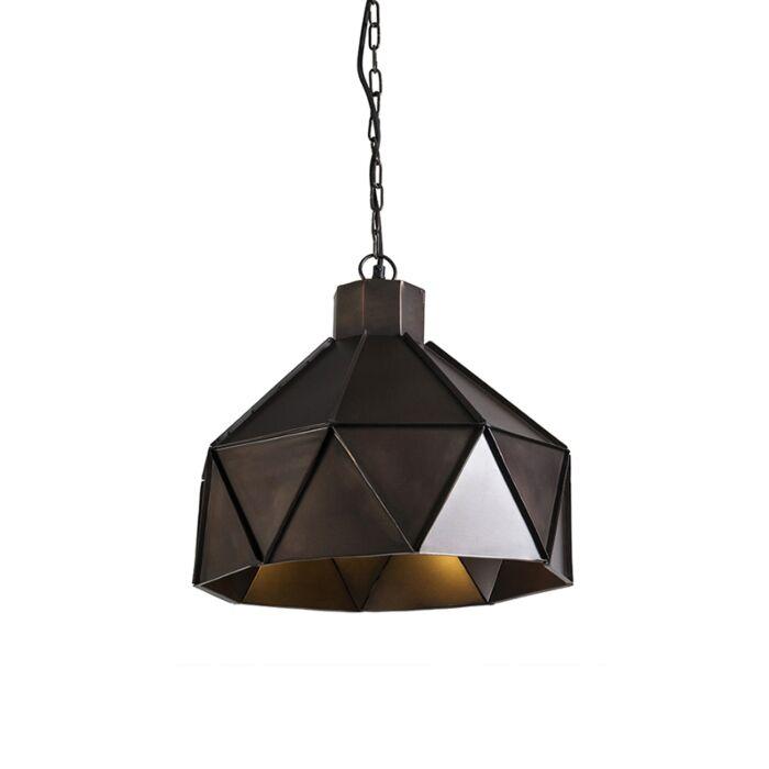 Lámpara-colgante-Art-Deco-cobre---TRIANGO