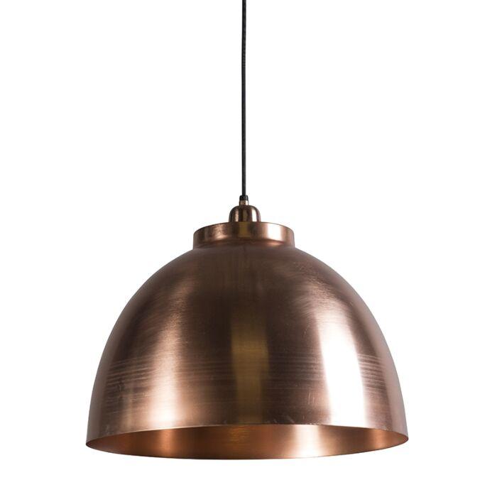 Lámpara-colgante-HOODI-dorado-rosado