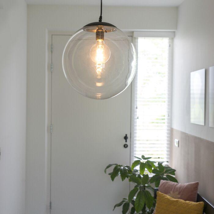 Lámpara-colgante-moderna-transparente-de-35-cm---PALLON